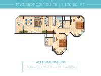 2 BDRM/3 Bath Elite floorplan