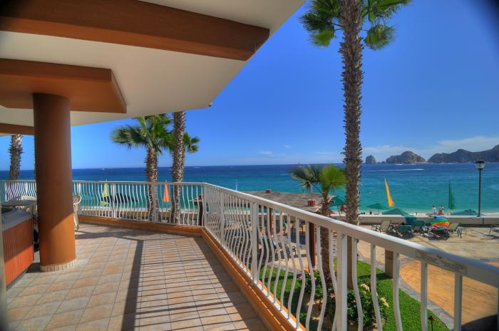 Villa Del Palmar Cabo Penthouse 1201 Ocean View from Balcony