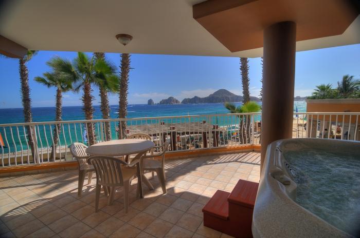 Villa Del Palmar Cabo Penthouse 1201 Private Veranda with Jacuzzi