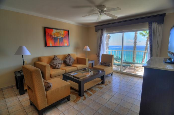 Villa Del Palmar Cabo Penthouse 1201 Living Room