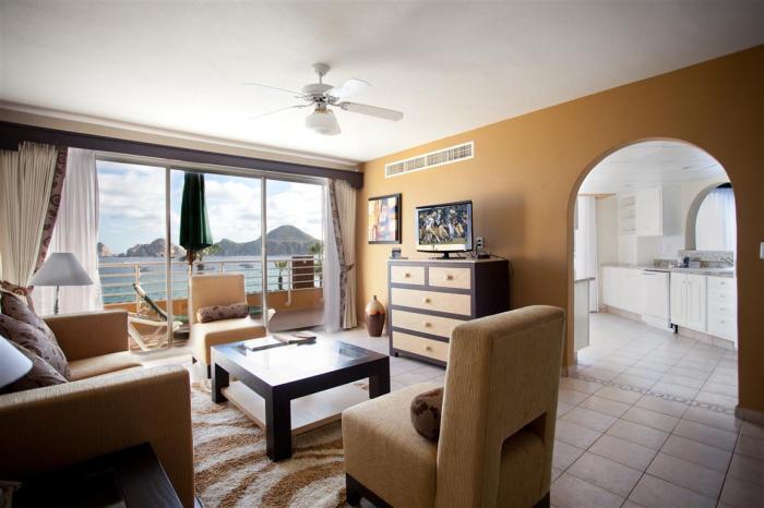 Villa Del Palmar Penthouse 3606 Living Room